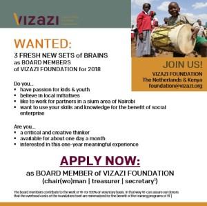 Flyer Board Member Vizazi 2018 (social media)